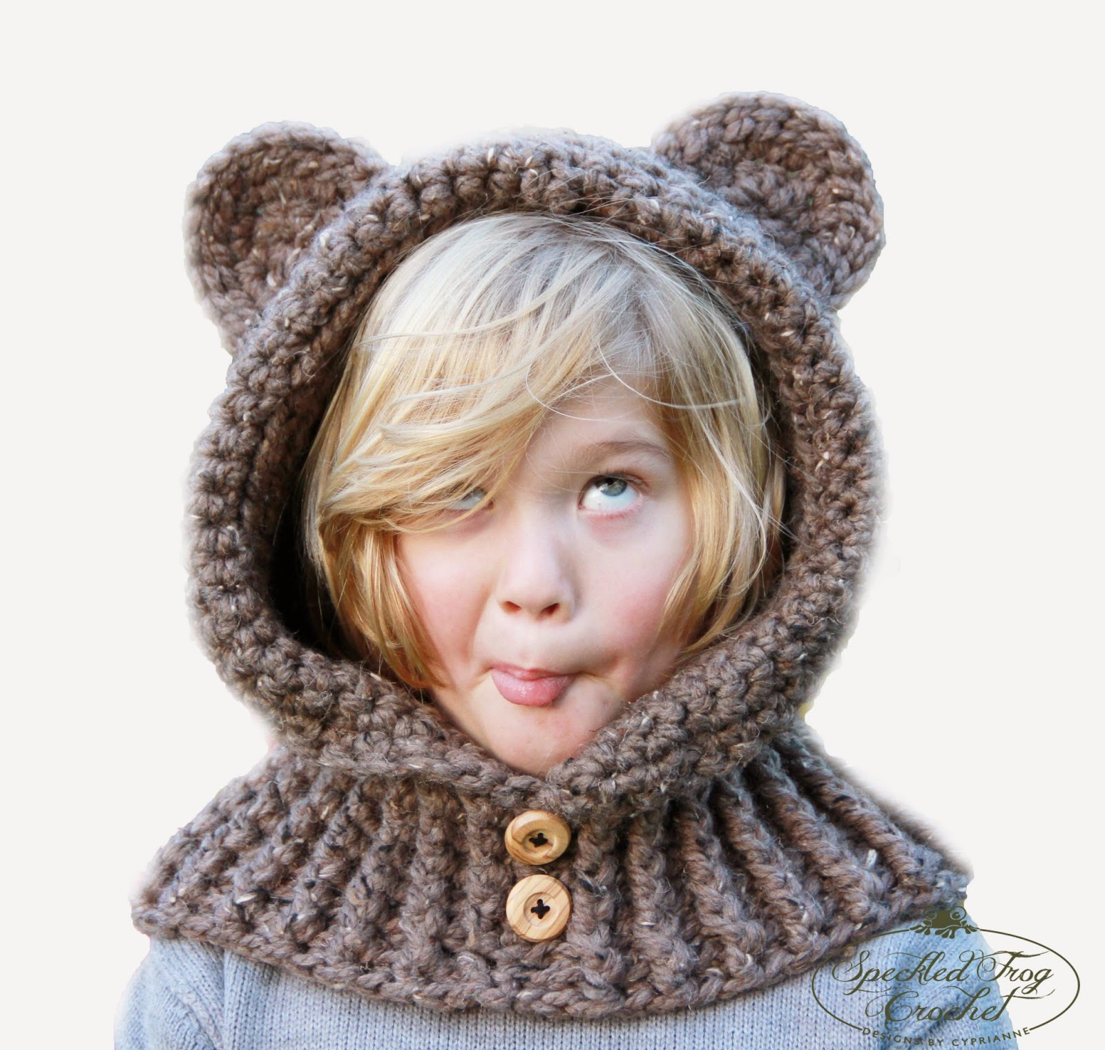 Crochet hooded bear cowl pattern bankloansurffo Gallery
