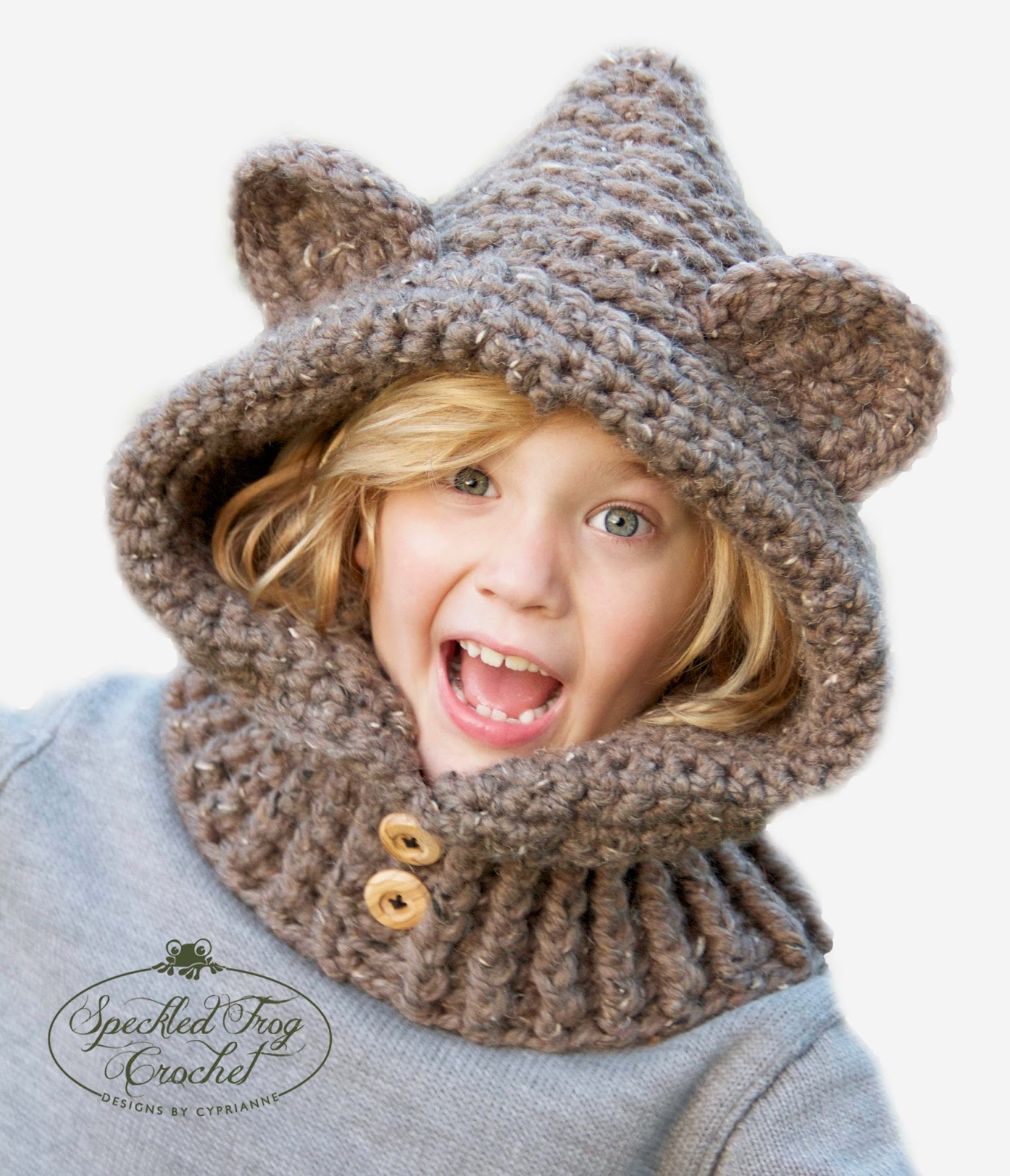 Crochet hooded bear cowl pattern click here for pattern and finished items bankloansurffo Images