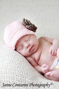 Crochet Baby Newsboy Cap Pattern