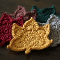 Maple Leaf Crochet Pattern and Video Tutorial