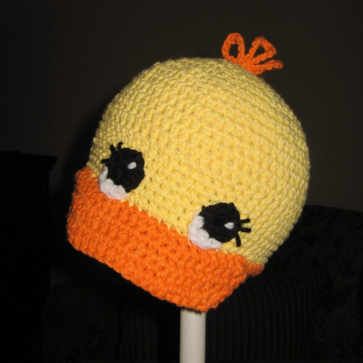 Crochet Duck Cap Pattern